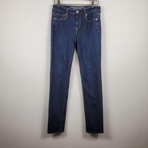 American Eagle Skinny Super Stretch Dark Wash Jean